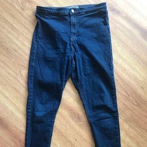 Topshop high waisted Motto Joni Jeans